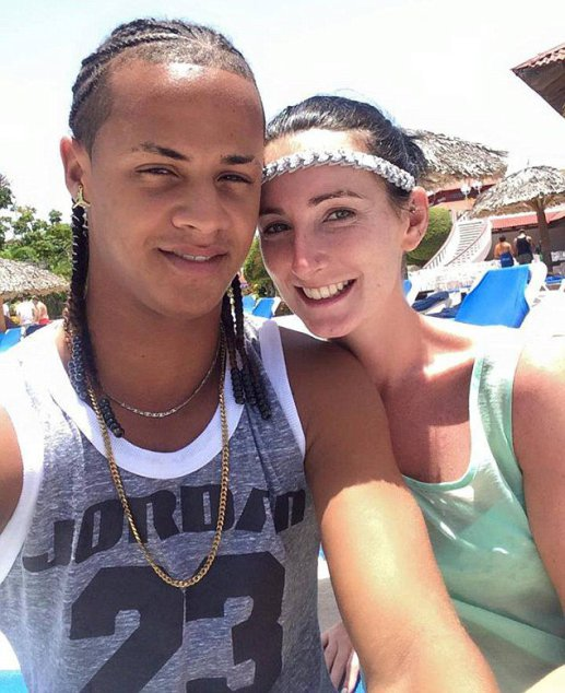 "Pictured is Heather McGillion and Adonis Rodriguez. A WOMAN has told how her boyfriend married another woman while she was giving birth to their baby. Heather McGillion, 24, had fallen for handsome Adonis Rodriguez while they both working as holiday reps in the Dominican Republic. After more than a year together, Heather, from Johnstone, Renfrewshire, fell pregnant and the pair made plans for family life on the Caribbean island. However after suffering complications during her pregnancy she decided to temporarily return home to Scotland to give birth but her partner was denied a visa. But as she welcomed her son Diego into the world, she was horrified after receiving a message on Facebook from a friend showing Adonis, 21, marrying a German tourist called Julia. Heather, a trained dancer, said: ""When I opened the message it felt like I had been hit by a double-decker bus. ""Adonis had his arms around a woman and she was wearing a wedding dress."""