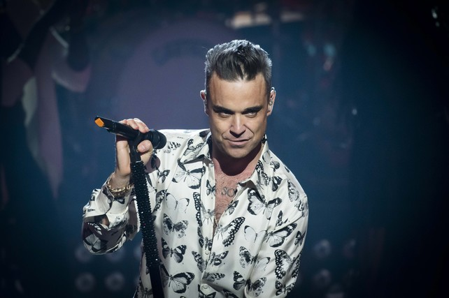 File photo dated 25/09/16 of Robbie Williams, who has announced that he is releasing a new album in November.