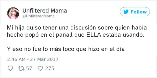 Tuits padres - pañal